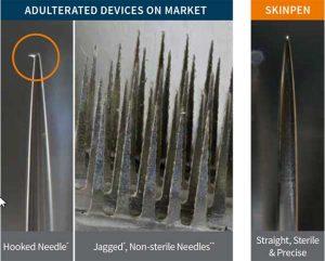 SkinPen needle vs others